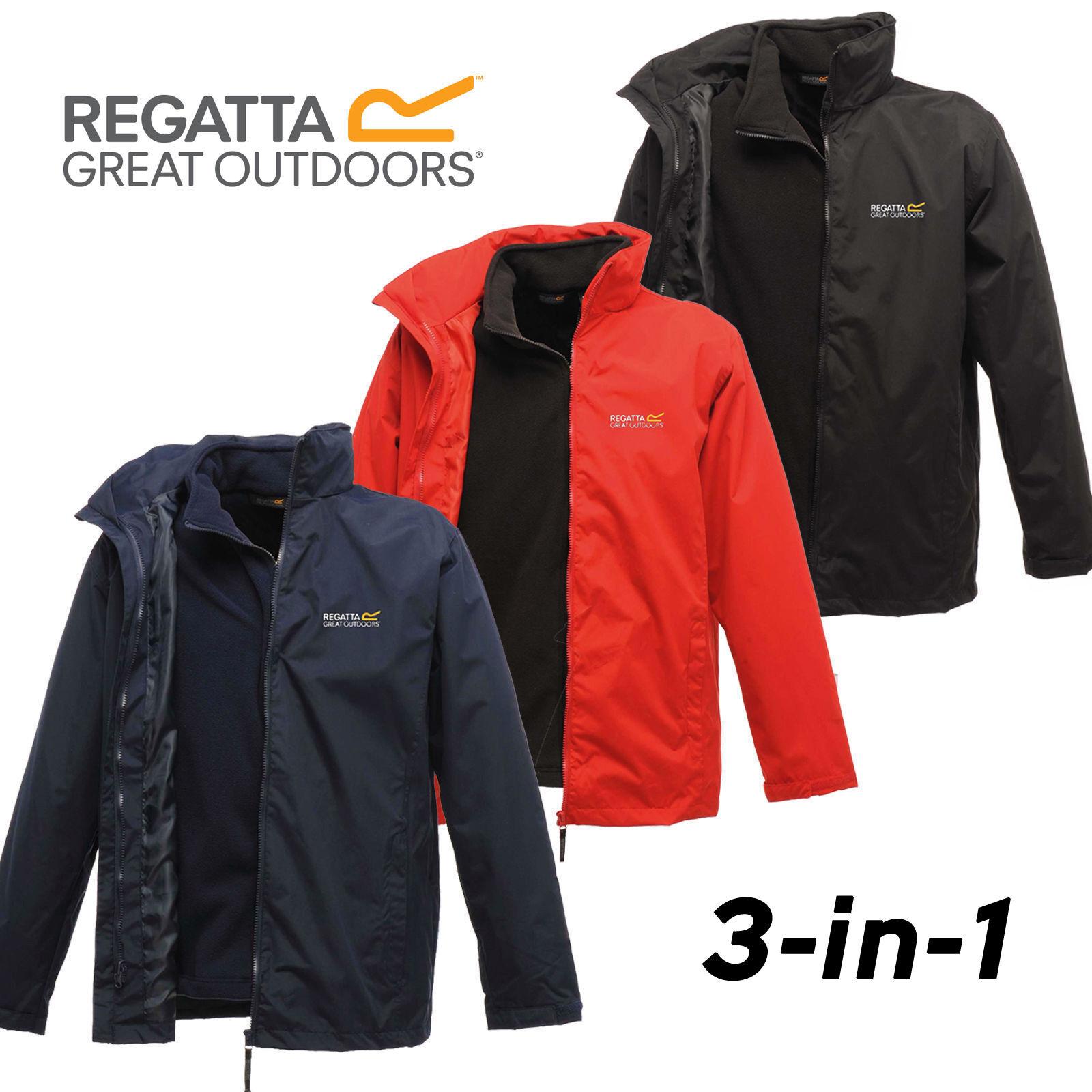 Regatta Mens Classic 3 in 1 Jacket vízálló, szélálló Hydrafort 5000 új logó