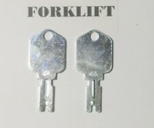 51335040 Pack of 2 Keys For Various Clark /& Hyster 186304 Forklift Models/>