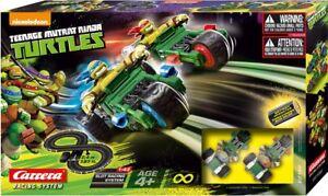 Carrera Tnmt Tortues Ninja Attack Slot Set Système de piste de course 1/43 Nickelodeon 4007486621961