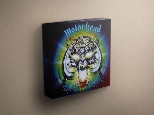 "Motorhead /""Overkill/"" Cover Art Canvas Art Print #005550"