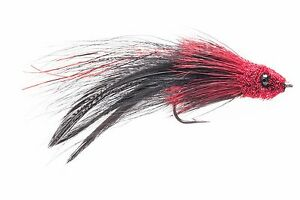 Redfish, Tarpon, Bass, Snook Fly Fishing Flies 6 flies Bronze Mullet Fly
