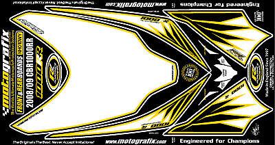 Honda CBR900 Fireblade RRY RR1 Motografix Front Number Board 3D Gel Protector