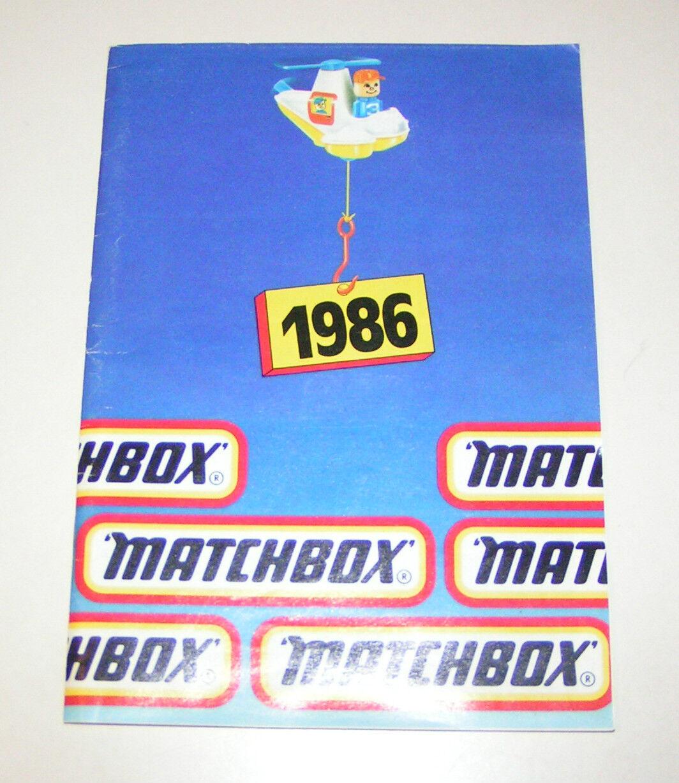Matchbox Katalog Deutsche Ausgabe 1986 im Format DIN DIN DIN A5  a49b03