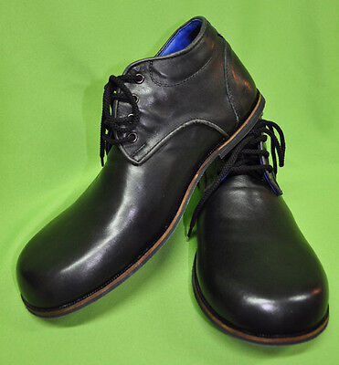 ZH003 ZYKO Professional Real Leather Clown Shoes Chaplin Black model
