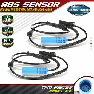 A-Premium ABS Wheel Speed Sensors for Nissan Murano Z50 2003-2007 Rear Left and Right 2-PC Set