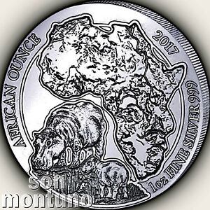 2017-Rwanda-HIPPOPOTAMUS-PROOF-1oz-Silver-African-Hippo-Wildlife-Coin-ONLY-1000