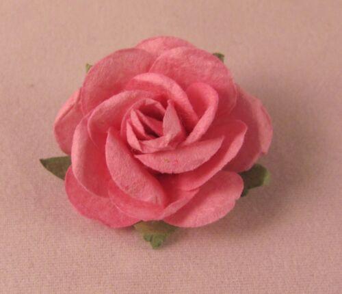 Wedding Everyday Men/'s Rose Paper Flower Lapel Pin Boutonniere Multiple colors
