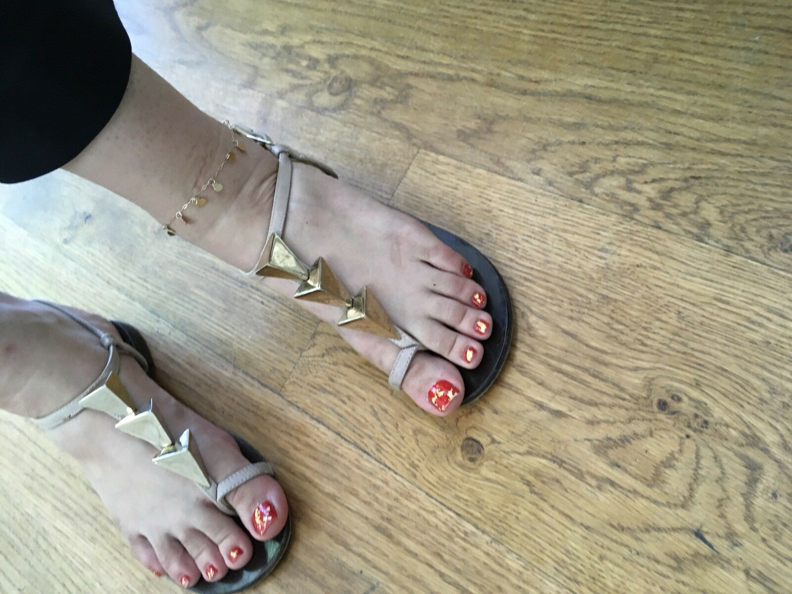 Giuseppe Zanotti sandals with embellishment at 35 vamps shoes flats SZ 35 at UK 2 US 5 122252