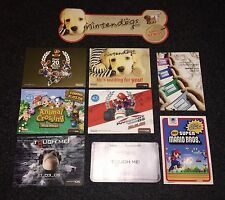 Very Rare Display Postcards Promo - Mario , Animal Crossing , Ds , Gameboy
