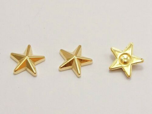100 Gold Acrylic Flatback Stud Cabachons for Earring Finding Phone Case Deco