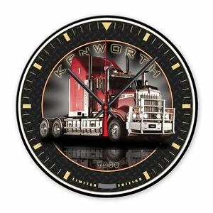 KENWORTH T908 TRUCK WALL CLOCK 'LIMITED EDITION'