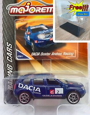 Dacia Duster Blue Andros Majorette Racing Cars 225A 1:64 2018 Die-Cast Toy Car