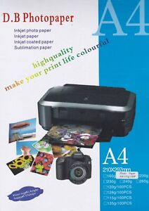 Photo-Paper-Premium-Glossy-A4-210mm-x-297mm-135gsm-White-Pack-of-100-Sheets