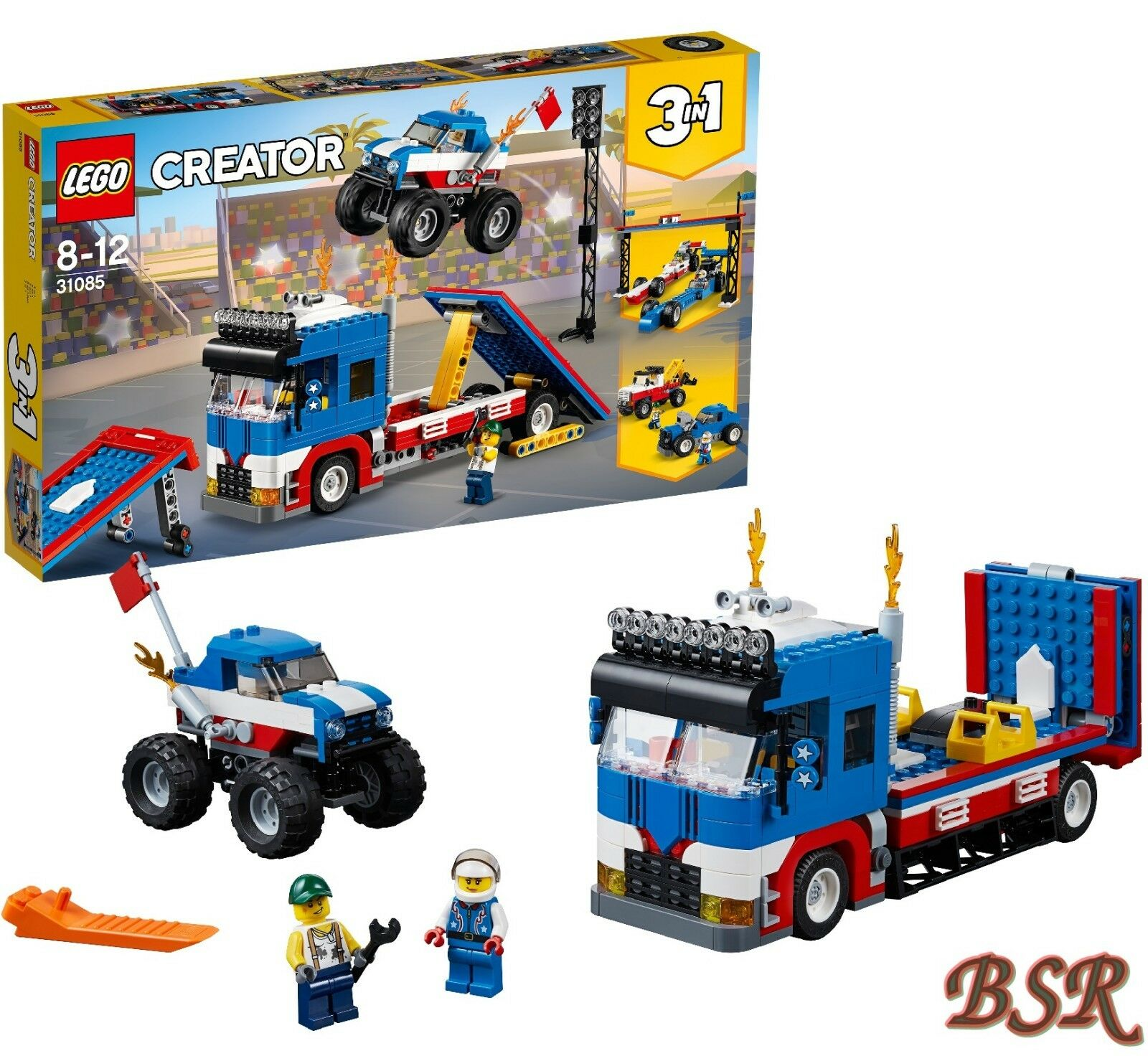 LEGO® Creator  31085 31085 31085  Stunt-Truck-Transporter & 0.- Versand & NEU & OVP 301b21