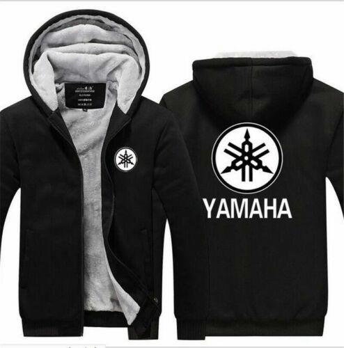 Fashion YAMAHA motorcycle Hoodie Winter Coat Fleece Unisex Thicken Jacket