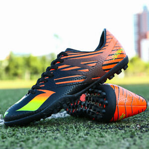 5099d0b16 Men Soccer Cleats Shoes Indoor Turf Sneakers Football Sneakers Shoes ...