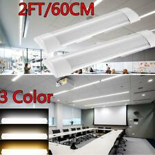 Led Batten Tube Light Dimmable 2ft 36w Ceiling Surface Mount Office Fixture