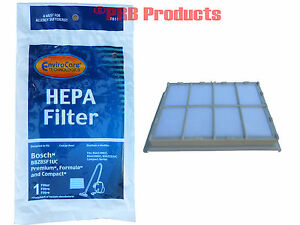 Bosch Hepa Filter 00263506 Compact/Plus Canister Vacuum Cleaners Models 00460474