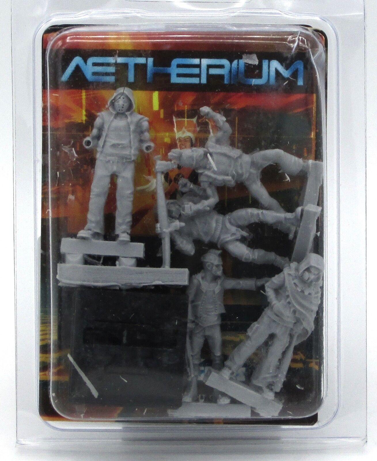 Aetherium A8G-AENA-S5B Rabble Nanomei Subroutine Rebels Street Gang Members NIB