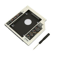 9.5mm SATA to SATA 2nd HDD Hard Disk Drive Caddy for Acer/Asus/Fujitsu/Sony/HPUK