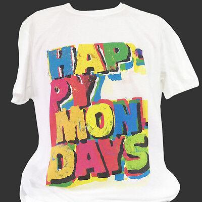 britpop rock t-shirt unisex HAPPY MONDAYS charlatans blur pulp verve S-3XL