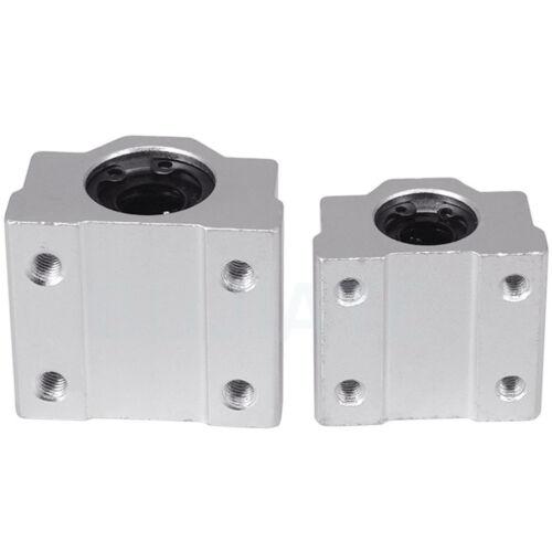 SCS6//8//10//12//16//20UU Movimiento Lineal Rodamiento buje de diapositivas para 6-20mm Eje