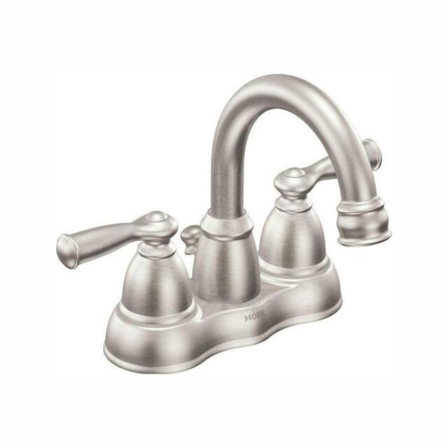 Banbury 4 in Centerset 2-Handle High-Arc Bathroom Faucet in Mediterranean Bronz