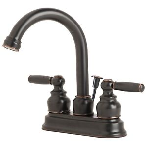 Contemporary-Bathroom-Vanity-Sink-4-034-Centerset-Lavatory-Faucet-Oil-Rubbed-Bronze