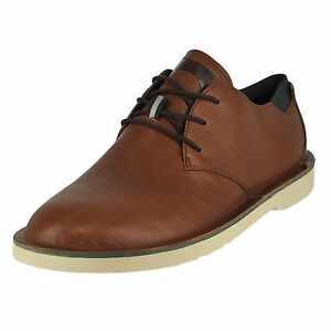 ... Camper Morrys Medium Brown Mens Oxfords Size 46M. Stock photo