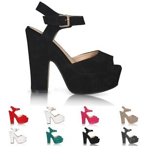 NEW-LADIES-PLATFORM-HIGH-CHUNKY-HEEL-PEEP-TOE-ANKLE-STRAP-SANDALS-SHOES-SIZE-3-8