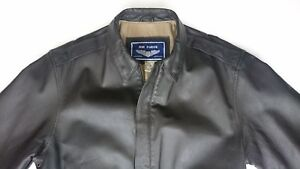 Air-Force-Airborne-Men-Large-Leather-Jacket-Military-Bomber-Pilots-Motorcycle-L