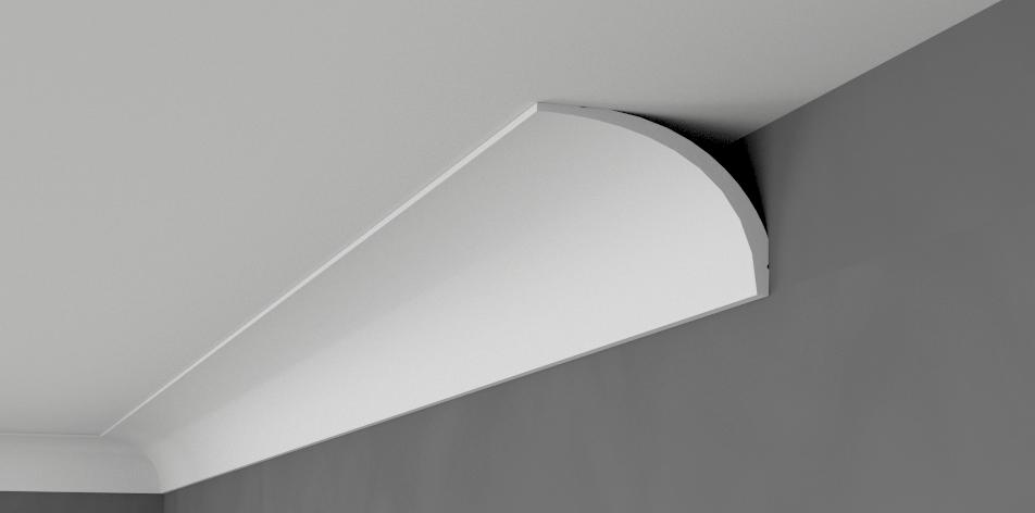 Coving Cornice XPS Polystyrene BSX9 Cheapest LARGE GrößeS MANY TYPES Quality 2M