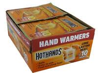 160 Heatmax Hot Hands 2 Handwarmers Warmers 80 Pairs Box Outdoor Camping