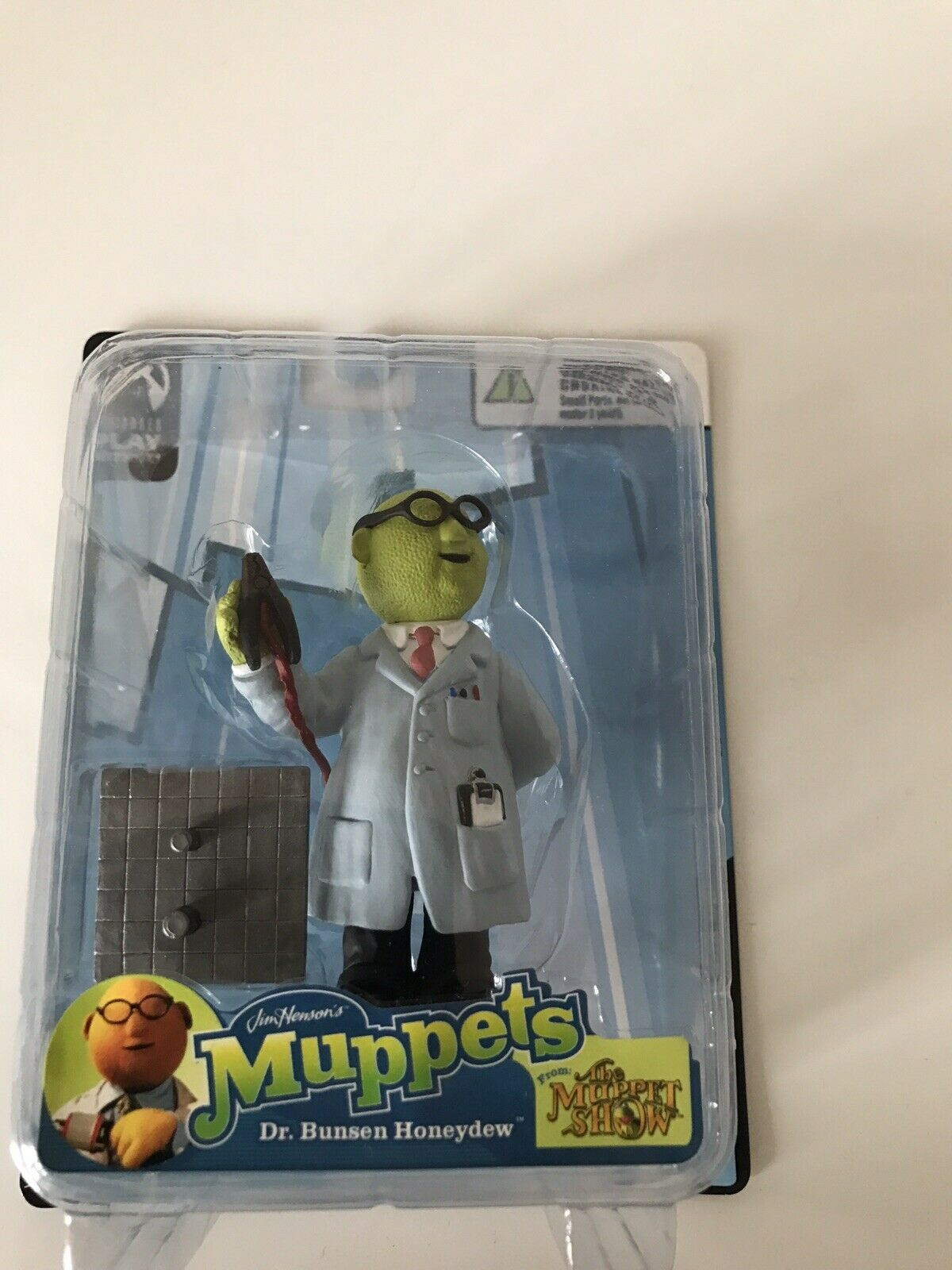 Palisades Toys The Muppets Show - MINI DR BUNSEN HONEYDEW Figurine Figure MOC