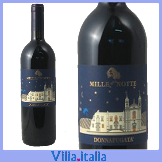 """Vino Rosso """"Donnafugata"""" Mille e una notte CL 75"""