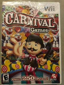 Carnival-Games-Nintendo-Wii-2007-Brand-New-Free-Shipping