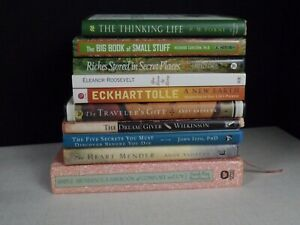 Lot-of-10-Personal-Growth-Inspiration-Self-Help-Books-Free-Shipping