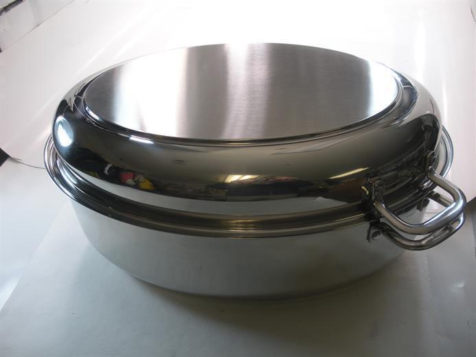 Cooks Choice RP-1014 ovale Rôtissoire en Acier Inoxydable 21045