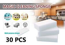 """30 Pcs Pack Magic Sponge Eraser Melamine Foam Cleaning 1.5"""" Thick USA Seller"""