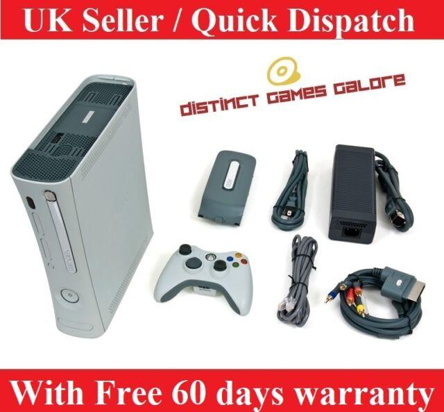 Microsoft Xbox 360 20 GB Matte White Premium console UK PAL Refurbished Bargain