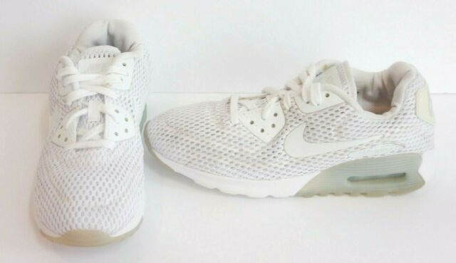 Nike AIR MAX 90 ULTRA BR Women's Shoes 725061 104; White; Size 7.5; NO INSOLES