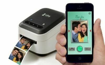 Wi-Fi Enabled Prints Directly and from IOS /& Android Smart Devices. ZINK Wireless Touchscreen Printer Built In App for Editing and Printing Photo /& Labels On-The-Go