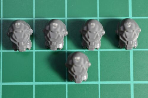Warhammer 40000-Space volves-Terminator-Lot casques