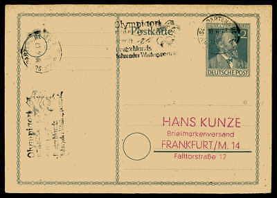 Intellektuell All.bes Briefmarken Ga Werbe-stempel Garmisch-partenkirchen Olympia Olympics Aa18