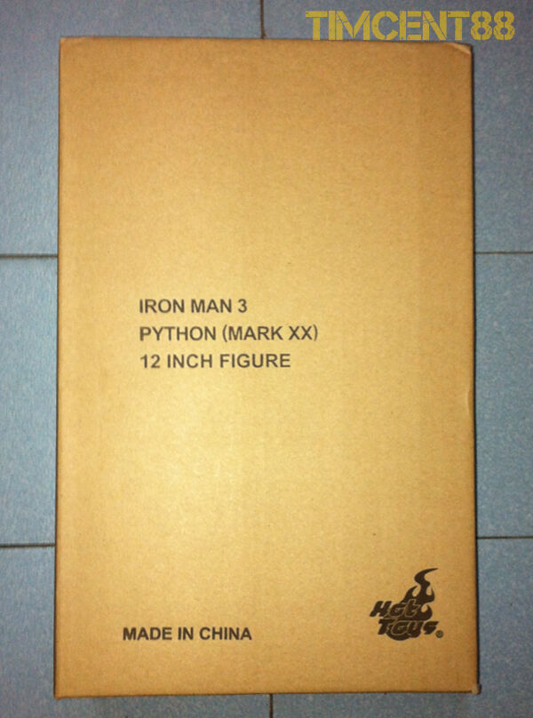 varm leksaker MMS248 Exklusiv 2014 Iron Man 3 - 1  6 Python Mark XX 20 Förseglad ny