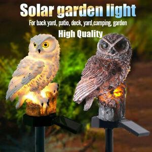 Outdoor-Solar-Power-Garden-Lights-Owl-Decor-Path-Lawn-Yard-LED-Landscape-Light