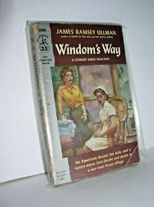 Windom's Way by James Ramsey Ullman (Pocket #1008,1'st April 1954, Paperback
