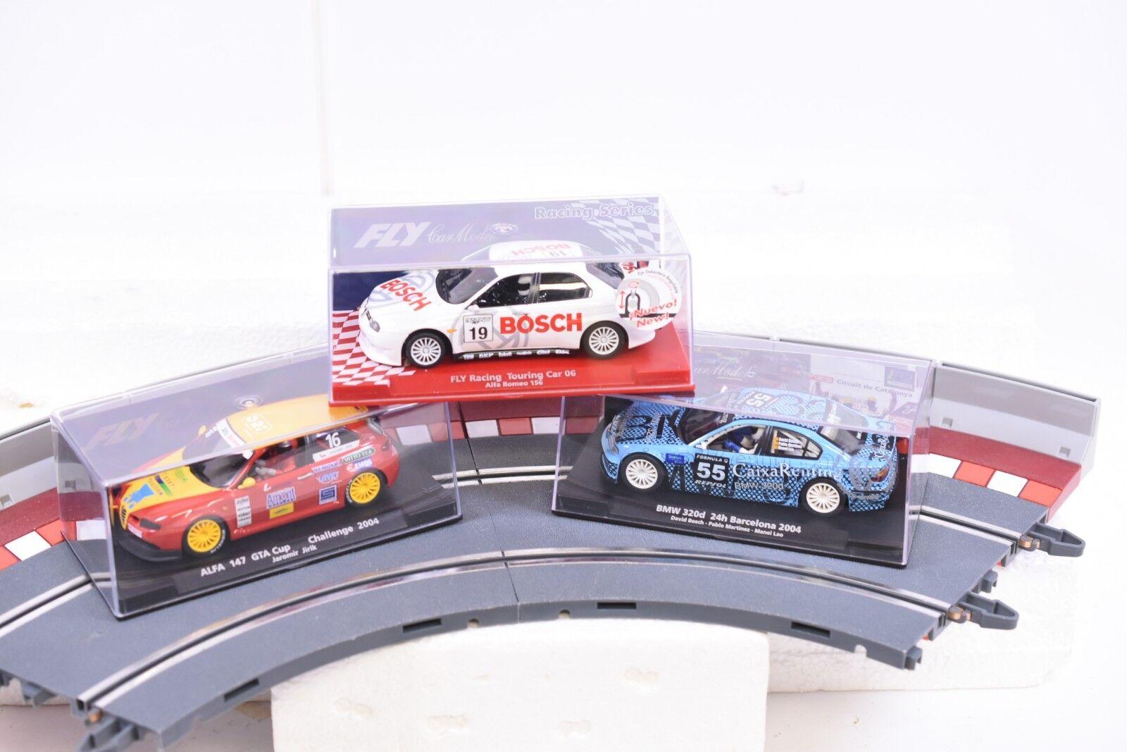 Misc Lote de Volar 1 32 Slot Cars 3 Cars, 88197 +88244 +88157 Afla + BMW 320d
