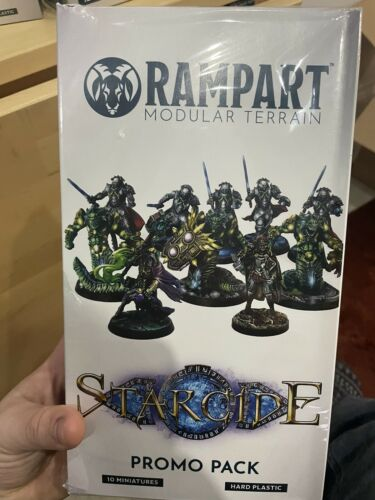 Great for conversions 10 models! Archon Studios Rampart Starcide Promo Pack