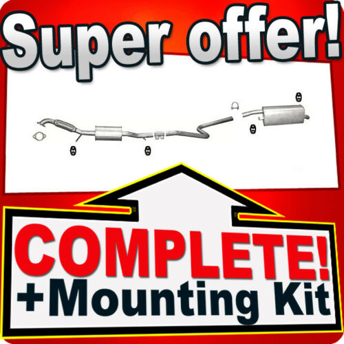FORD FIESTA MK5 1.6 Silencer Exhaust System 719A